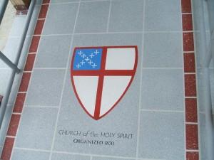Barry Jones Church walkway