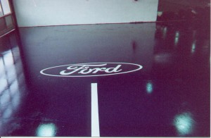 Martin Jacobs Ford dealership and logo